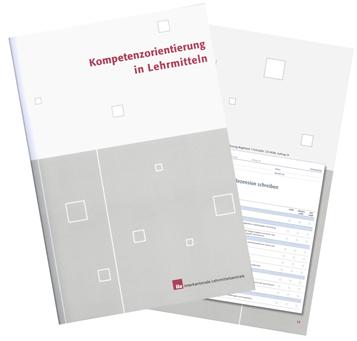 Broschüre Kompetenzorientierung in Lehrmitteln